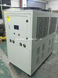 el aire 42000BTU/H refrescó el refrigerador de agua usado en máquina de pintar del polvo de la máquina de pulir