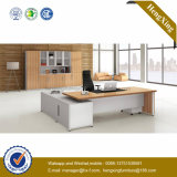 メラミン木のオフィス用家具のL形のオフィス表(NS-NW172)