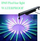 luz IP65 de la arandela de la pared de 14PCS 4in1/5in1/6in1 LED para la barra al aire libre del pixel