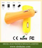 2017熱い販売のユニバーサル二重USBの携帯電話車の充電器
