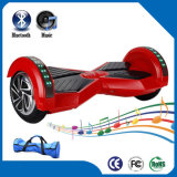 Großhandelsdoppelrad-elektrischer balancierender Roller mit LED helles Bluetooth