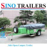 Роскошный складывая трейлер туриста с шатром холстины
