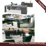 (HX-5N048) Colore bianco L forniture di ufficio della melammina della scrivania di figura