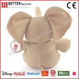 Elefante macio bonito do brinquedo dos animais enchidos
