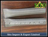ステンレス鋼の金網シリンダーフィルターによって編まれる金網