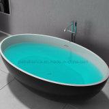 Bañera superficial sólida derecha libre del cuarto de baño (PB1056G)