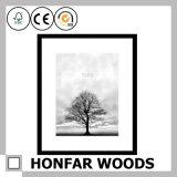 Het bruine Houten Frame van de Foto voor Decoratie Al Grootte