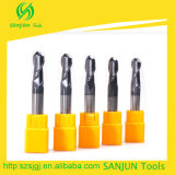 Diameter Ball Nose Mill Cutter Tungsten Carbide Round Nose Mill Cutters Hole Milling Cutter