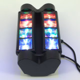 ragno capo mobile del fascio dello scanner della discoteca di 8*3W LED mini