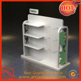 Modern Retail Shoe Store Fixtures Gondola Display Racks for Shop