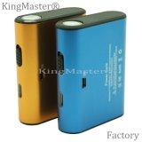 케이블로 4400mAh 힘 은행을 비용을 부과하는 Kingmaster 고품질 속도