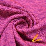 Tela elástica feita malha de Lycra do Spandex do poliéster para a aptidão do Sportswear (LTT-DAYGYZB#)