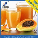Suco de papaia que faz a máquina/linha de produção fresca do suco de papaia