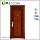実質の質贅沢で装飾的な1および半分のドア葉の鋼鉄ドア(鋼鉄ドア)