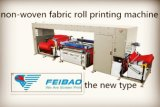 Rodillo bicolor automático para rodar la impresora no tejida de la pantalla de la tela