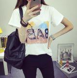 T-shirt de chemise de circuit de collet d'équipage de mode
