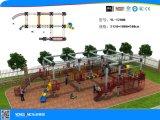 Campo da giuoco di plastica esterno della trasparenza dei bambini (YL55240)