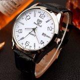 309 hombres cubren el reloj al por mayor del asunto con cuero de manera del calendario del reloj