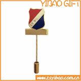 Pin su ordinazione del risvolto dell'oro per i regali di promozione (YB-LP-38)