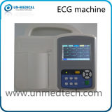 Appareil ECG à trois canaux portables avec logiciel pour PC