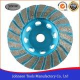 Колесо чашки Turbo диаманта Od100-180mm для меля камня