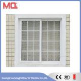 Diseño plástico de la parrilla de ventana de desplazamiento de la ventana UPVC