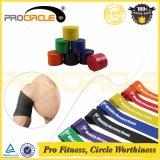 Rodillo de goma de la venda de la resistencia del látex de la yoga de la aptitud de Crossfit (PC-RB1013-1016)