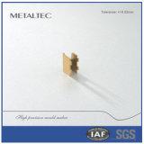 Alta precisión del rectángulo de cobre amarillo del cepillo que estampa piezas que trabajan a máquina de perforación