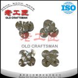 Карбид R4 R5 R6 R7 вольфрама цементированный сформировал плашки чертежа