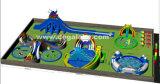 Sosta gonfiabile personalizzata dell'acqua per il parco di divertimenti