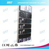 Visualización impermeable al aire libre del precio de la gasolina del LED (telecontrol o control de la PC)