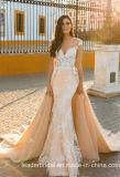 Платье Wd077 Шампань Tullewedding мантии Mermaid шнурка Bridal