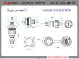 Lp-20 IP67 de Schakelaar van de Macht met 7pins voor het LEIDENE Scherm en Apparatuur Indusrial