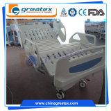 Base vendedora caliente del producto 2017 ICU de la innovación, fábrica médica manual eléctrica del equipo de los muebles de la cama de hospital de la ROM de la colina del cuidado casero