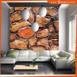 デジタルプリント緑Slabstone/のキャンバス(モデルNOの大理石の石造りのキャンバスの壁の芸術の絵画: Hx-4-134)