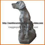 Memorial feito-à-medida Ma1701 das estátuas do cão da família