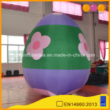 Uovo gonfiabile sveglio gigante di colore di Pasqua di vendita calda per fare pubblicità alla decorazione (AQ56138-1)