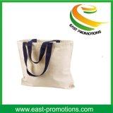 Logo de marque d'esprit de sac à provisions de coton de qualité