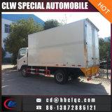 Camion chiaro del congelatore della carne congelato camion della casella isolato 5m3 5mt di JAC