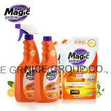自然な魔法の台所洗剤の液体