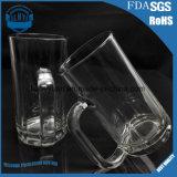 Tasse de bière en verre de traitement d'escompte