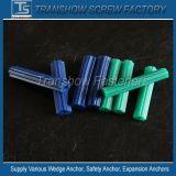中国製プラスチック骨があるアンカーユニバーサル長いプラスチック壁アンカー
