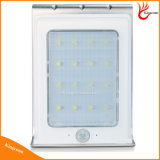 Impermeabilizzare l'indicatore luminoso esterno solare di movimento di energia solare dei 16 LED del sensore del giardino dell'indicatore luminoso della lampada solare infrarossa di obbligazione