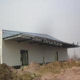 Magazzino chiaro prefabbricato del metallo della struttura d'acciaio con il certificato dello SGS