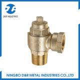 De Kleppen van de Metalen kap van het Messing van het Metaal van het Type van Wartel van Male&Female NPT van Dr3008