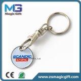 熱い販売の昇進のトロリー硬貨の金属Keychain