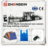 Saco de compra não tecido popular que faz a máquina Zxl-B700