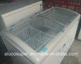 Color blanco de la hoja de aluminio del congelador o grabado