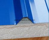 Panneau/panneau en acier de toit de sandwich à la couleur économique ENV de qualité pour le dortoir de travail, entrepôt, bureau