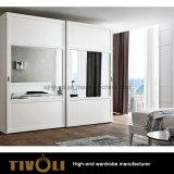 현대 고품질 자연적인 목제 곡물 도매 호텔 가구 세탁물 옷장 부엌 Tivo-077VW